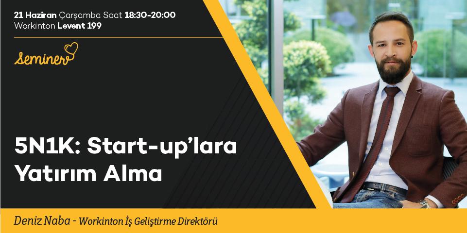 Start-up'lara Yatırım Alma